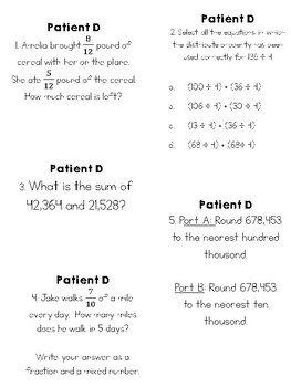 Medical Math Mysteries