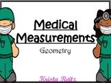 Medical Measurement {Geometry Bundle: Angles, Lines, Protr