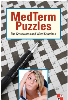 Medical Terminology Crossword and Word Search Puzzle PDF Resource