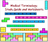 Medical Terminology: Study Guide and Worksheets