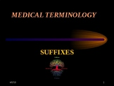 Medical Terminology: Suffixes