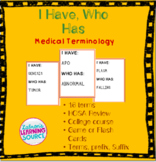 Medical Terminology Vocabulary Game
