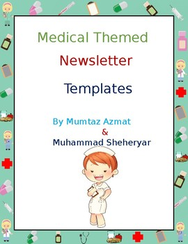 Medical Themed Newsletter Templates (Editable)