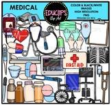 Medical Tools Clip Art Bundle {Educlips Clipart}