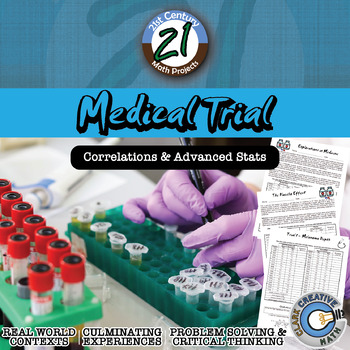 Medical Trial -- Statistics & T-Test Project