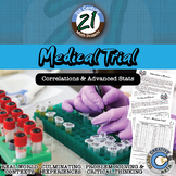 Medical Trial -- Statistics & T-Test - 21st Century Math Project