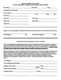 Medical release form for any group (choir, band, orchestra, etc)