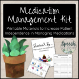 Medication Management Kit for Adult Speech Therapy