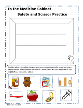 Medicine Cabinet Safety and Scissor Practice