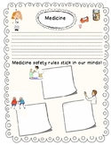 Medicine Safety Rules Graphic Organizers