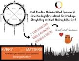 Medicine Wheel Framework  3 Part Lesson Plans Full Intro Unit Reconciliation