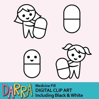Medicine pills clip art