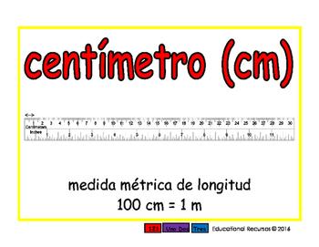 Medida espanol 2-way rojo