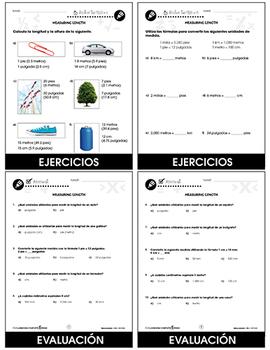 Medidas: Medidas de longitud Gr. PK-2