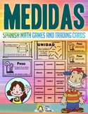 Medidas Spanish Math Vocabulary Games ✅ Distance Learning