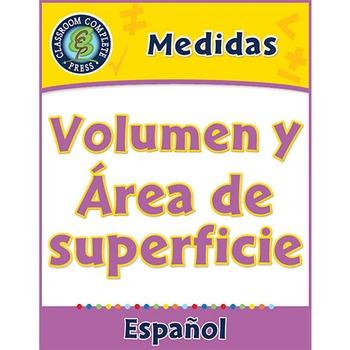 Medidas: Volumen y Área de superficie Gr. 3-5
