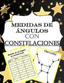 Medidas de angulos con constelaciones