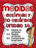 Medidas estándar y no estándar: Spanish Standard and Nonstandard Measurement