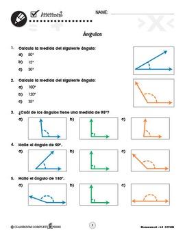 Medidas: Ángulos Gr. 3-5