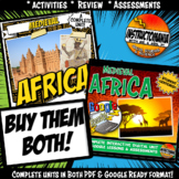Medieval Africa Complete Unit & Google Ready Combined Activity History Bundle
