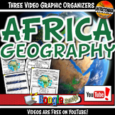 Medieval Africa Geography YouTube Video Graphic Organizer
