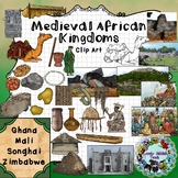 Medieval African Kingdoms Clip Art
