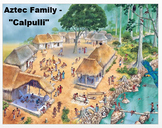 """Medieval America - """"The Aztec Family"""" + Assessment"""