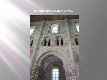 Medieval / Middle Ages Art PowerPoint Quiz - PowerPoint