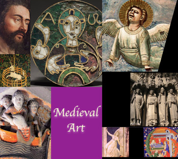 Medieval Art History ~ FREE POSTER ~ Gothic, Romanesque, Carolingian, etc