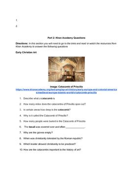 AP ART HISTORY: Medieval Art Part 1