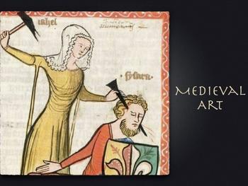 Medieval Art Presentation ~ Art History ~ 200 Slides ~ Hig