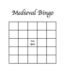 Medieval Bingo