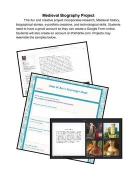 Medieval Biographical Portfolio