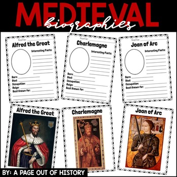 Medieval Biographies