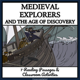 EXPLORERS AND THE AGE OF DISCOVERY - Reading Passages and Classroom Activities