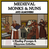 Medieval Careers - Religious Jobs: Monks, Nuns and Almoners