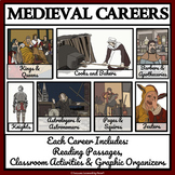 MEDIEVAL LIFE, BUNDLE 1 - Reading Passage, Comprehension, Activities, Bingo