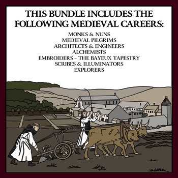 BUNDLE: Medieval Careers in Medieval Times Volume 2
