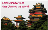 """""""Chinese Innovations that Changed the World"""" + Power Point + Assessment"""