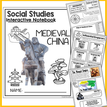 Medieval China Interactive Notebook