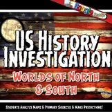 North & South Pre-Civil War Investigation History Lesson S