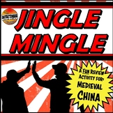 Medieval China Jingle Mingle Fun Class Activity
