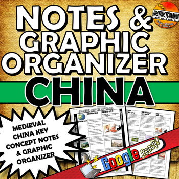 Medieval China Notes and Graphic Organizer
