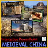 Medieval China PowerPoint and Google Slides