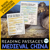Medieval China Reading Passages - Questions - Annotations