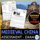 Medieval China Test - Exam