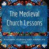 Medieval Churches - Lesson Bundle