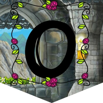 Medieval Welcome to our Castle Classroom Banner Decor No Prep