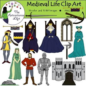 Medieval Clip Art