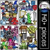 Medieval Fairytale Clipart MEGA Set (Fairy Tale Clipart)